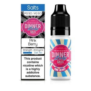 Dinner Lady Pink Berry Nic Salt 10ml